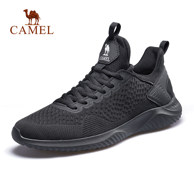 CAMEL Men Running Shoes Lightweight Comfortable Breathable Casual Outdoor Sports Sneakers