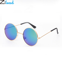 Zilead Fashion Baby Sunglasses Brand Retro Kids Round Sun Glasses Children Outdo