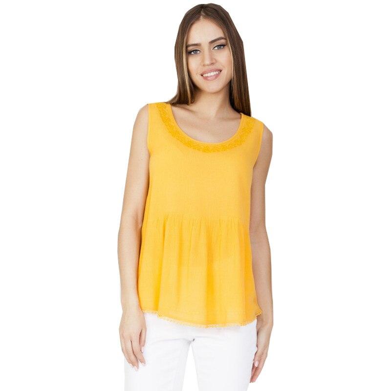 Blouses and Shirts VISAVIS L3540 Viscose summer women TmallFS