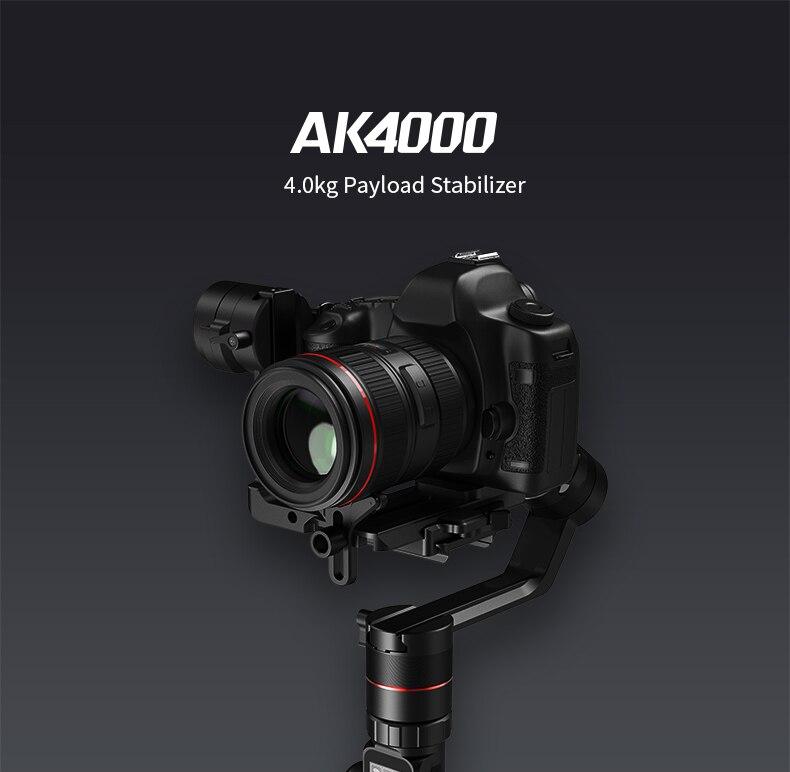 Feiyutech ak4000 3 axis для цифрового однообъективного зеркального