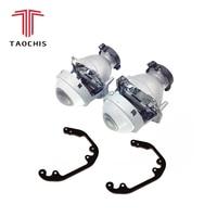 TAOCHIS Car Styling frame adapter Hella 3r G5 Projector lens retrofit for AUDI A4 B5 8D 1999 2001