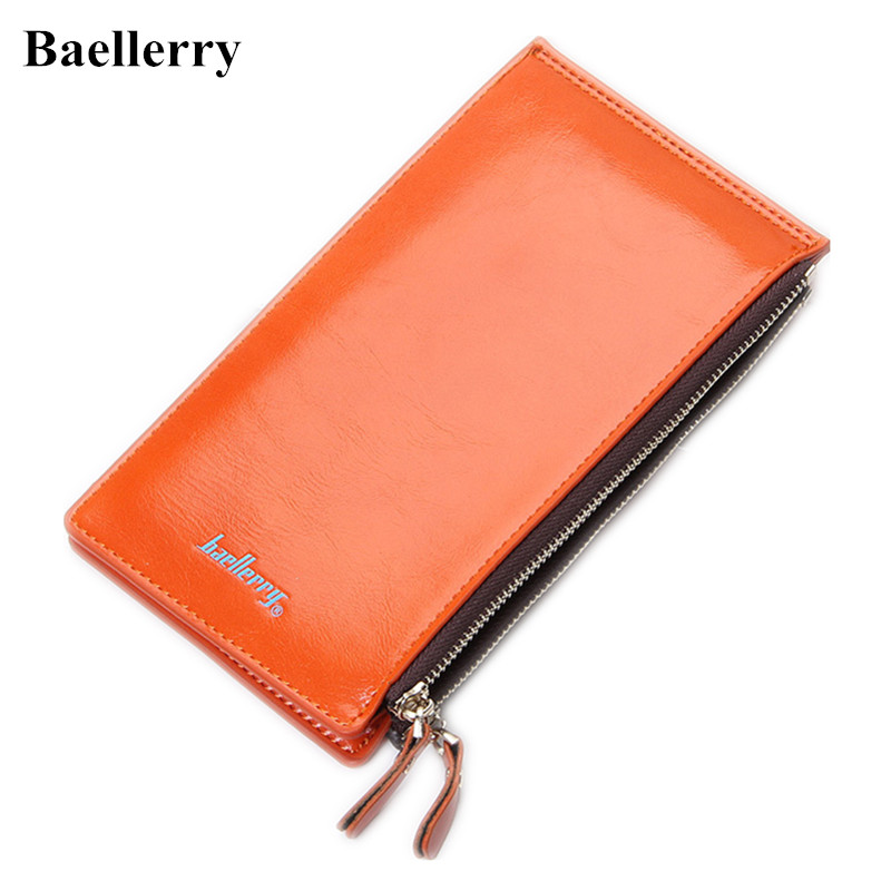 New Designer Leather Phone Wallets Female Long Fashion Red Purses Women Money Bags Card Holders Zipper Pocket Hasp Clutch Bags