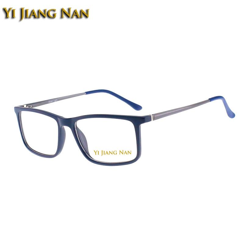Yi blau 90 Jiang dark Mode Vollrand Nan Gläser Tr Rahmen demi Marke Matte Brillen Optische Black Elegante Männer Material Green UnUrawx