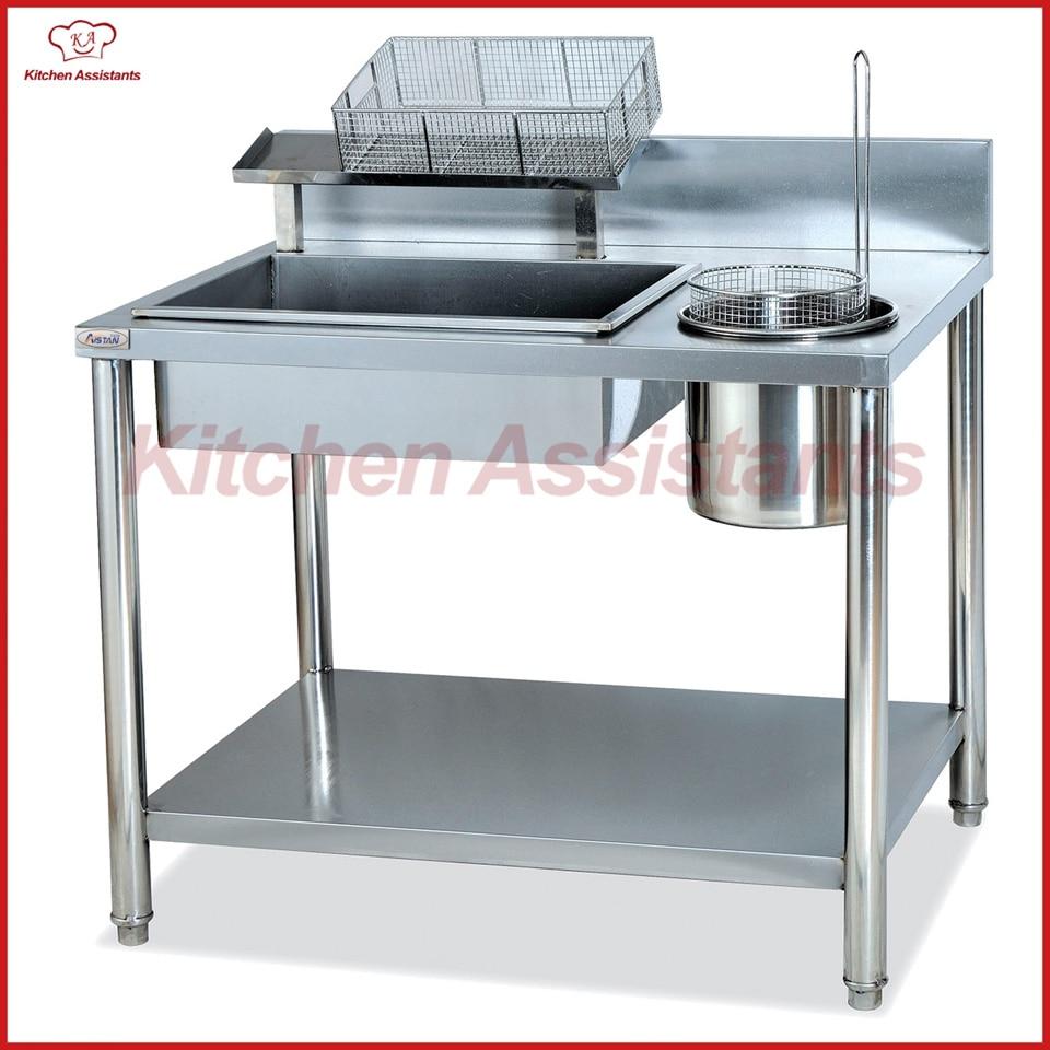 GW1000 Manual Breading Table of kitchen equipment lg gw b489sqgz