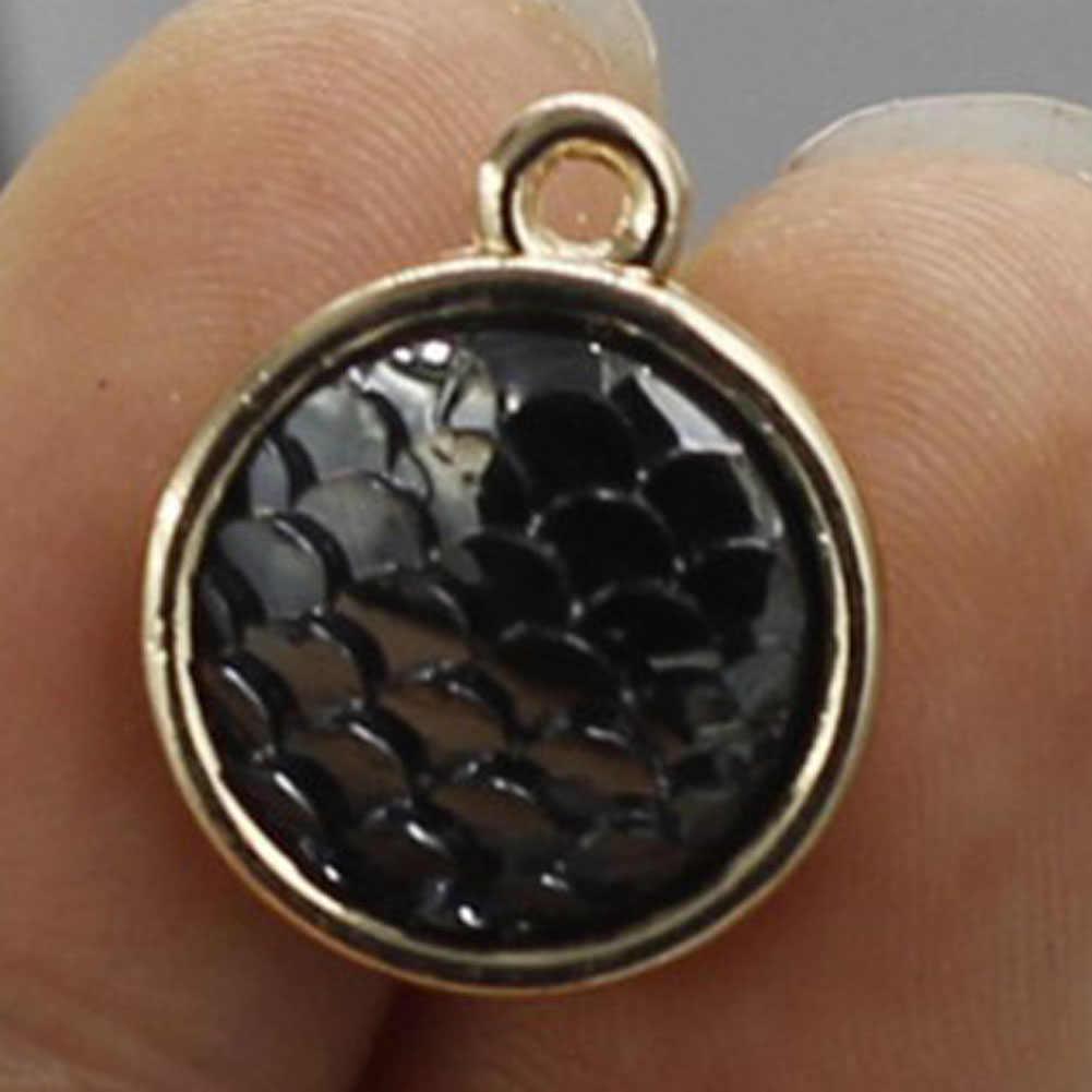 New Arrival Vintage Color Fish Scales Pendant For Making Necklace Bracelet Jewelry Suspension For Men / Women Jewelry bijoux