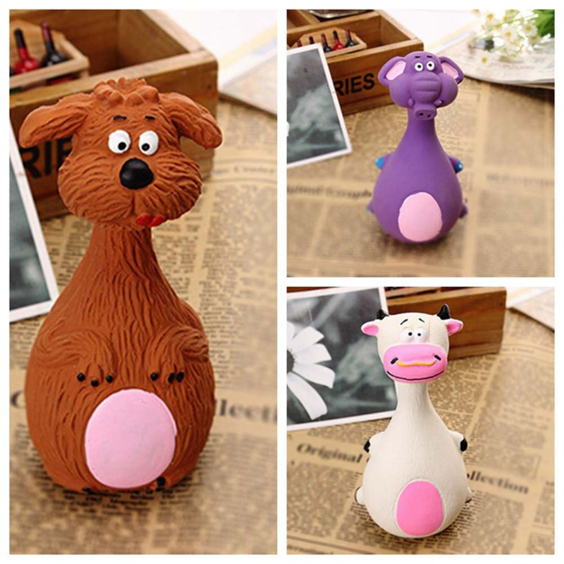 2018 New Pet Toys Puppy Dog Toy Plush Sound Squeaky Squeaky Shape Toy Animal Chew different Kinds Patterns Pet Cat TOY