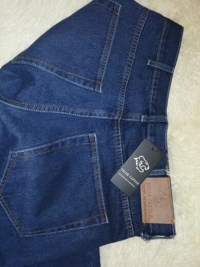 человек Жан; джинсовые Жан мужчины; 10-дюймовый Реми волос;