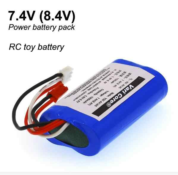 New 7.4V 18650 Lithium Battery 1500 mAh 8.4V  Lithium Ion Battery Aircraft Battery Power Battery + Free Shipping