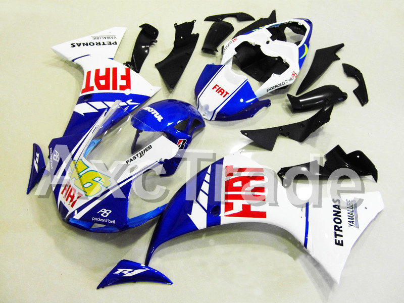 Motorcycle Fairings For Yamaha YZF R1 1000 YZF-R1 YZF-R1000 2009 2010 2011 ABS Plastic Injection Fairing Bodywork Kit No 46 P8 motorcycle ignition switch lock with keys for yamaha yzf r1 2007 2008 yzf r1 2009 2010 2011 fjr1300 2001 2005 fjr1300 2006 2010