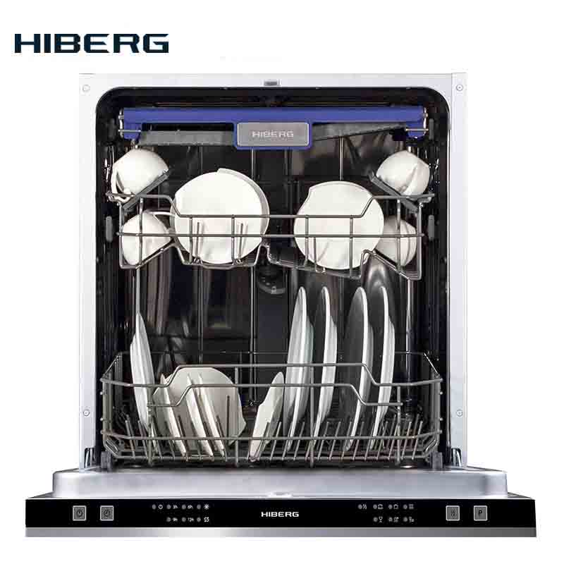 Built-in Dishwasher Hiberg I 66 1431 Dishwasher Built-in Kitchen Mini Feeding Washing Machine For Dish Washing Tableware Washing