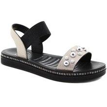 Женские босоножки; DINO ALBAT; RC06_296; Новая женская обувь; женские летние удобные босоножки на танкетке; женские сандалии без застежки на плоской подошве