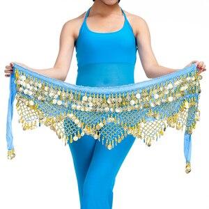 Image 2 - 11 renk kadife mısır oryantal dans paraları kemerler kadınlar için klasik oryantal dans kostümü aksesuarları cıngıllı şal Bellydance