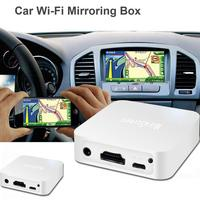 New Car WiFi Display Miracast Box, Car Display Airplay Mirroring Dongle AV Mirascreen TV Stick for iOS Android GPS with RCA