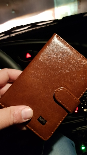 PU Leather Passport Cover Men Travel Wallet Credit Card Holder Cover  Russian Driver License Wallet Document Case --BIH009 PM20 photo review