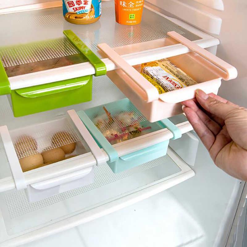 Однослойный рефрижератор шкаф для хранения разделители для ящиков пластиковая рамка для журнального столика; стекло столешницы многофункциональная отделка