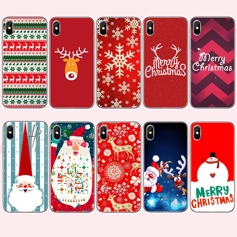 Half-wrapped Case Phone Bags & Cases Practical On Sale Phone Accessories Case Christmas Snowman New Year Gifts For Samsung Galaxy A3 A5 A7 J1 J2 J3 J5 J7 2015 2016 2017