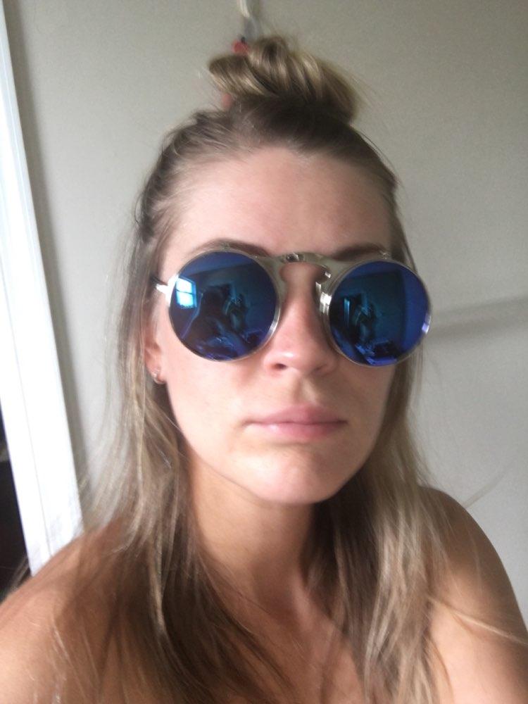 VINTAGE STEAMPUNK Sunglasses round Designer steam punk Metal OCULOS de sol women COATING SUNGLASSES Men Retro CIRCLE SUN GLASSES