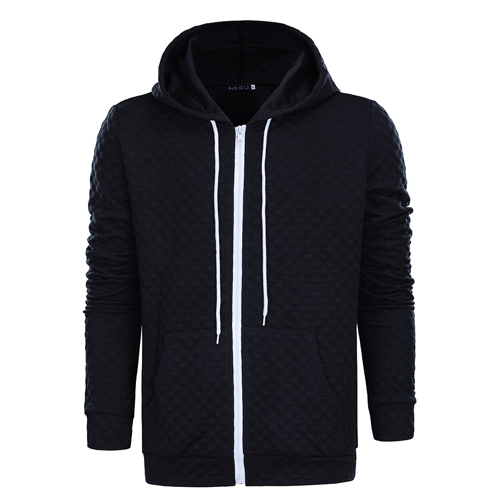 High Quality 2017 New Arrival Men Winter Hoodies Male Sweatshirts zipper Hooded Brands Men's Coat