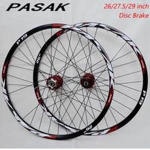 High Quality wheel 26inch 27.5inch 29inch MTB Mountain Bike 32H Disc Brake Bicycle wheels front 2 rear 4 bearings wheelset цена