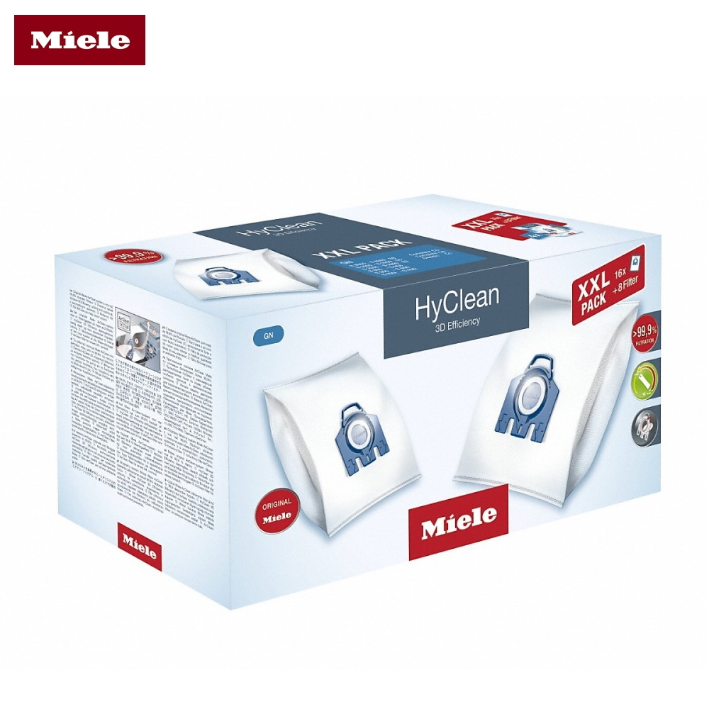 Bags-cleaner bags Miele XXL GN HyClean 3D цена