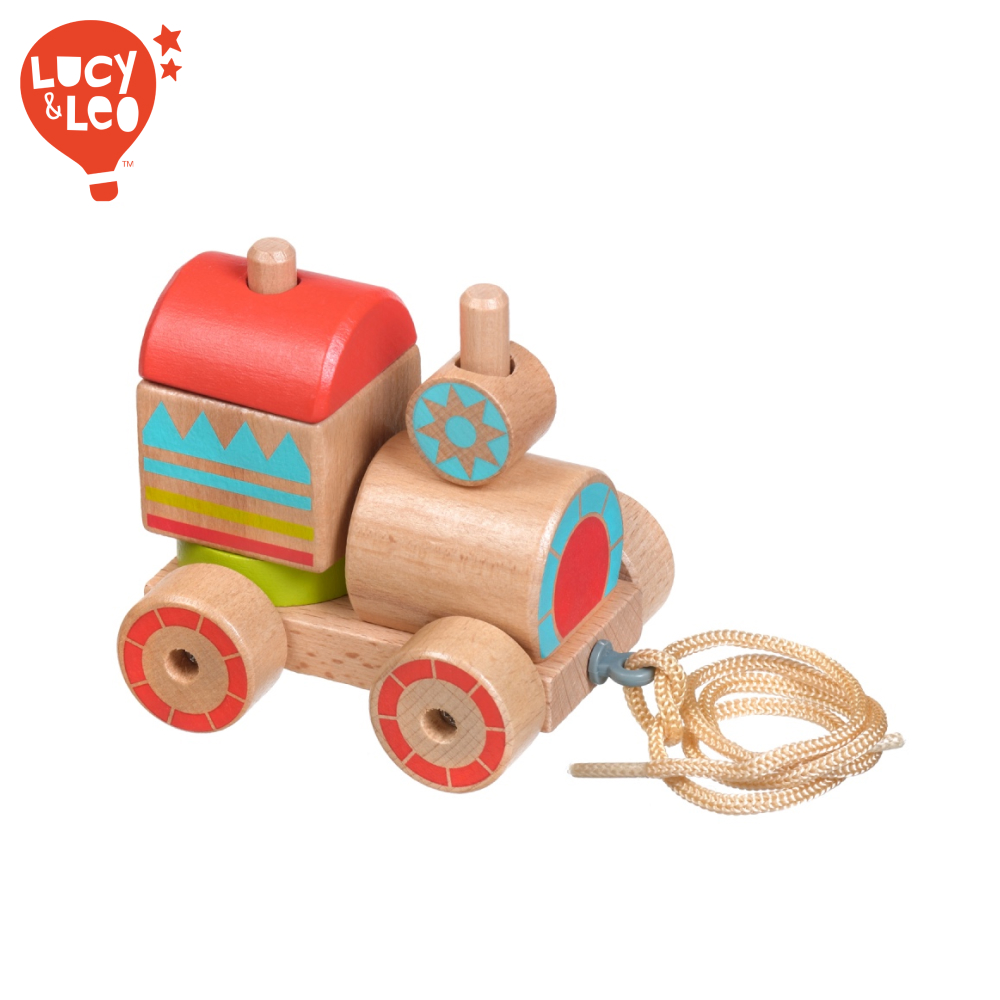 Sorting, Nesting & Stacking toys Lucy&Leo LL157 learning educational kids play girl boy toy steam engine game boys girls toywood