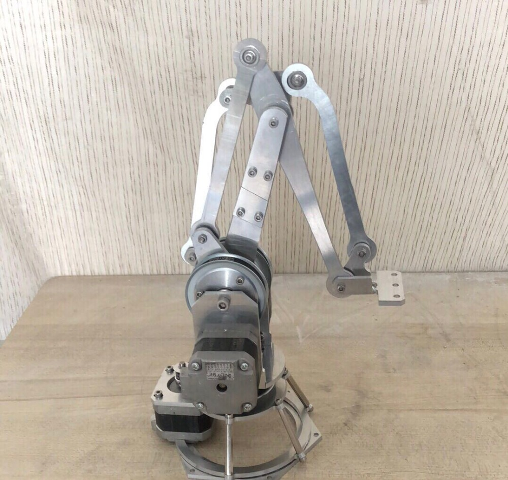 ANNOYTOOLS AI Robot Manipulator Metal Alloy Mechanical Arm Clamp Claw Kit