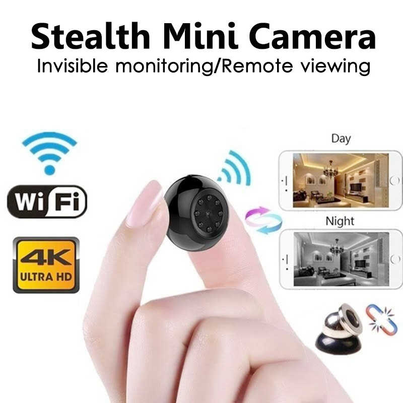 Home Security WIFI IP Mini Camera Wireless Small Nanny DV Infrared Night Vision Motion Detection Baby Monitor suport hidden card