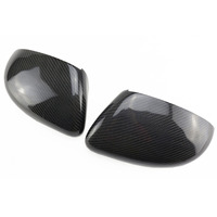 Replace 1:1 Stick Pair Carbon Fiber Mirror Cover for VW Golf MK6 GTI VI R