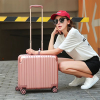CUWHF Universal wheel boarding100% PC Suitcase Carry on Spinner Wheel Travel Luggage 39#39#24 suitcase on wheels