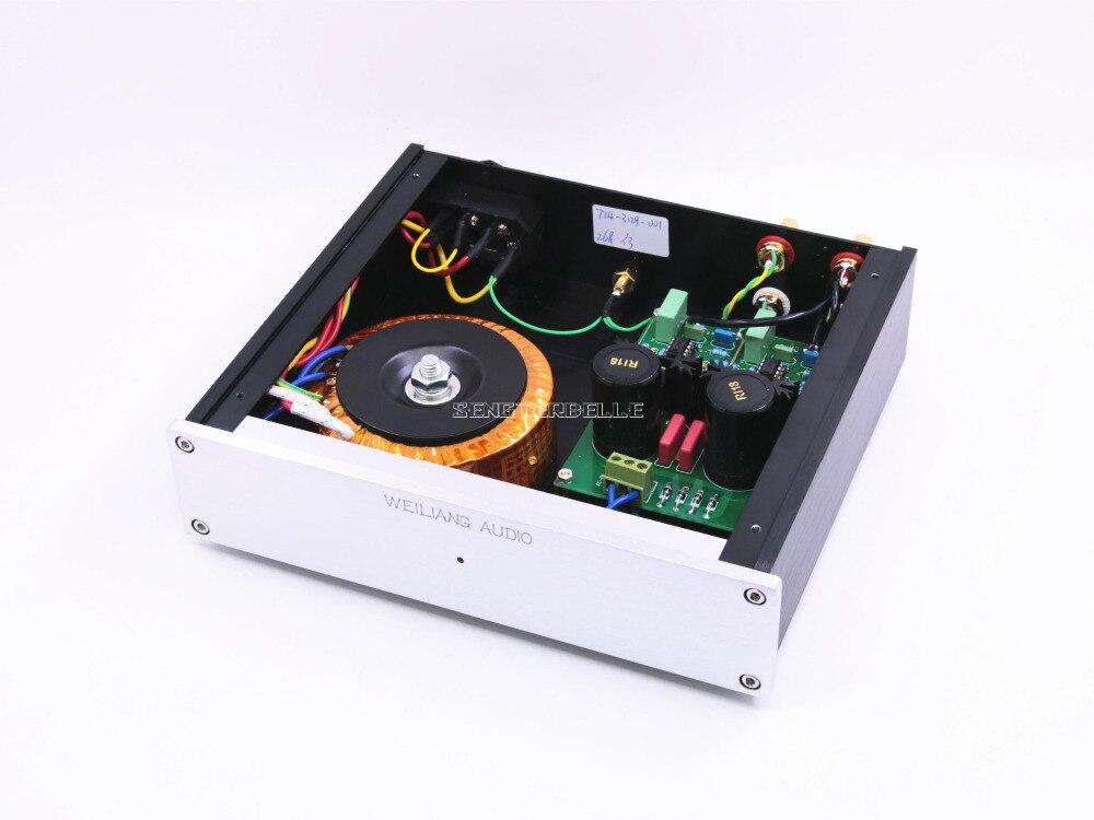 Amplificateur assemblé MM/MC à double Circuit HIFI fini pour scène Phono - 4