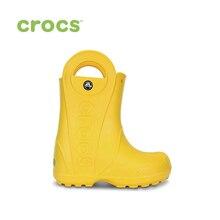Botas de lluvia CROCS Handle It para niños/para niñas, niños, niños, TmallFS zapatos Botas de lluvia para niños