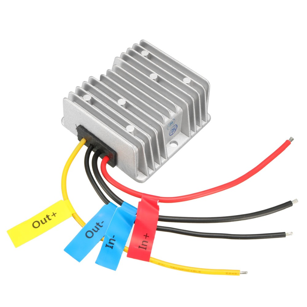 Power Converter Regulator <font><b>DC</b></font> 12V(10~<font><b>16V</b></font>) Step-Up to 24V 8A 192W Waterproof Voltage Convert Transformer Power Supplies <font><b>Adapters</b></font> image