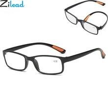 Zilead, ультра-легкие складные очки для чтения, брендовые, женские и мужские, анти-капля, для чтения, увеличительные, дальнозоркие очки, oculos gafas