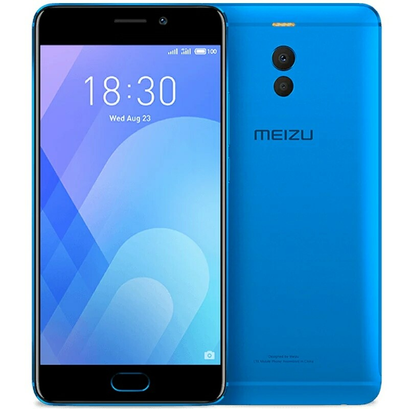 Official Meizu M6 Note 4G LTE 3GB 32GB Cell Phone Android Snapdragon 625 Octa core 5.5'' Dual PD Camera 4000mAh Fingerprint