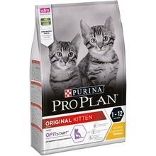 Сухой корм Purina Pro Plan для котят от 1 до 12 месяцев, с курицей посылка, 3 кг