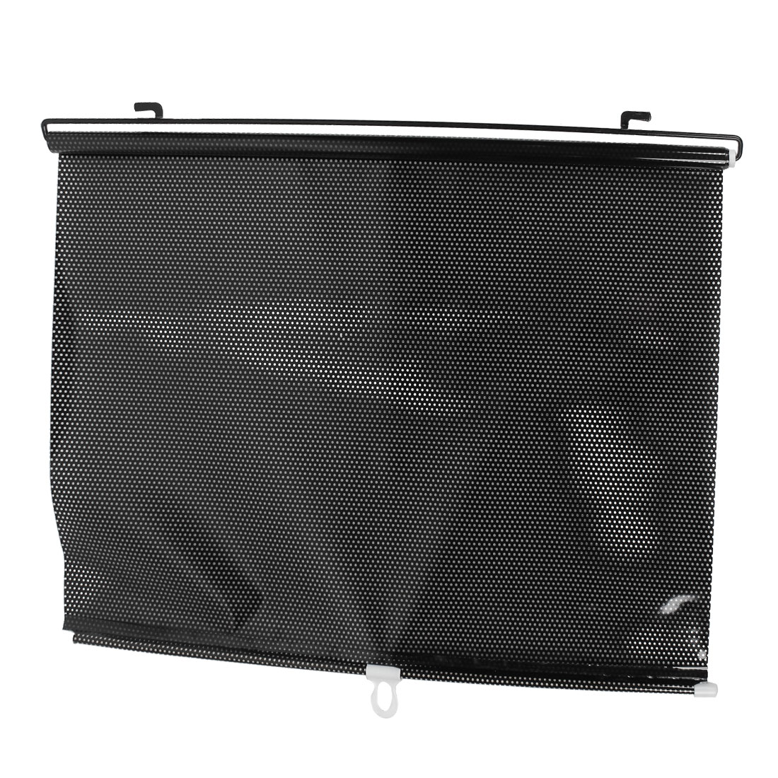 Roll Up Sun Shades >> X Autohaux 125cm X 58cm Black Clear Roll Up Reflective Sun Shade For