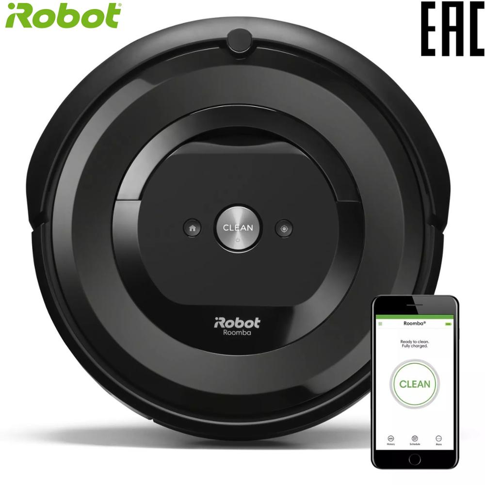 цена на iRobot Roomba e5 High Suction Electric Automatic Robot Vacuum Cleaner Sweeping Dust Sterilize APP Floor Cleaning Home Household