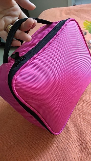 Women Professional Cosmetic Case Beauty Brush Makeup Bag Travel Necessary Waterproof Cosmetic Bag photo review