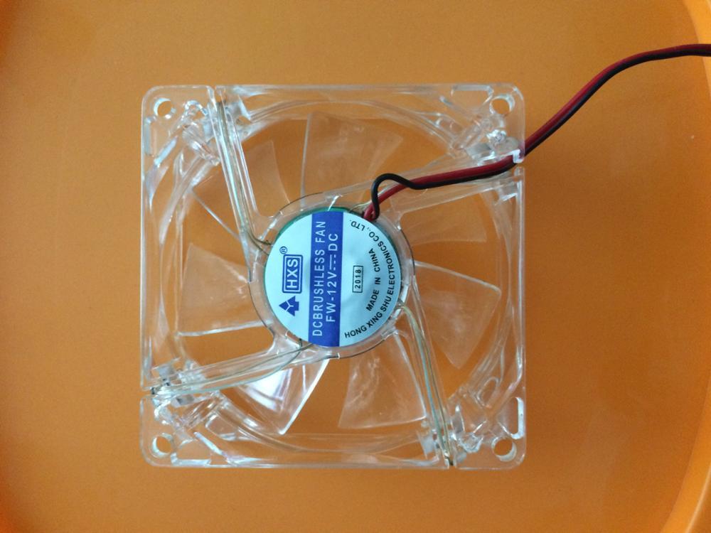 Компьютер вентилятор случае вентилятор охлаждения блок вентиляторов 8025 8 см с светодиодный свет шасси вентилятор 80*80*25