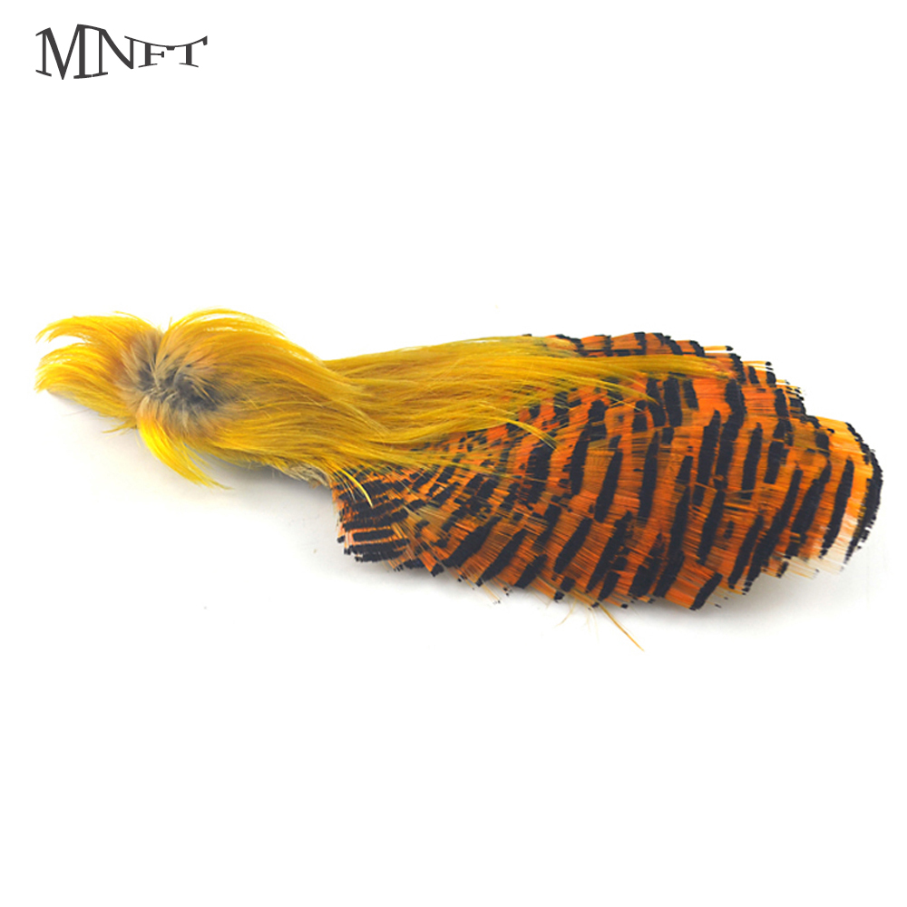 MNFT Natures Spirit Fly Tying Feathers Golden Pheasant Head With Golden Pheasant Complete Head 2 Choices ...