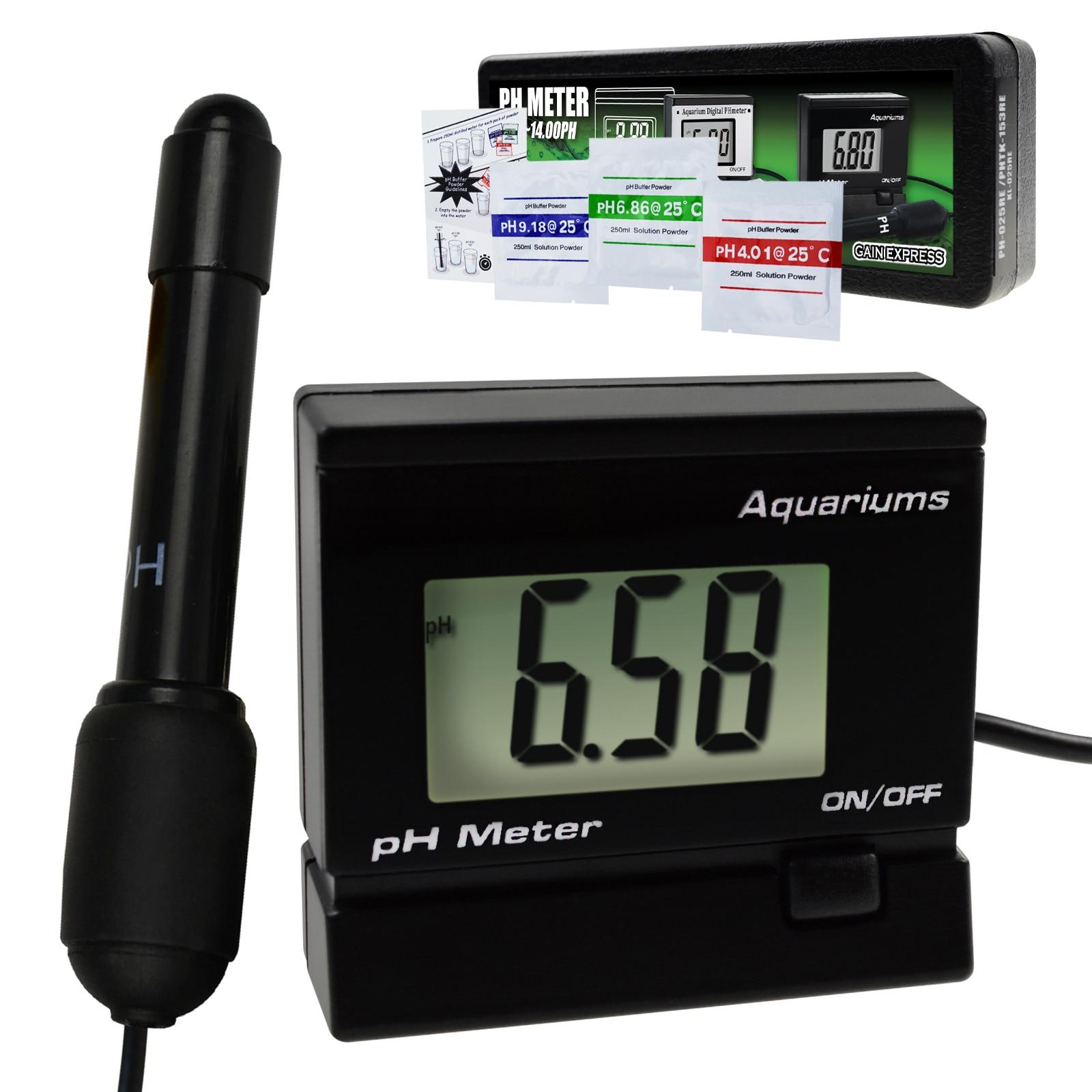 Digital pH Monitor Meter ATC 0~14.00pH Water Quality Monitoring Tester Kit Replaceable Electrode Probe BNC