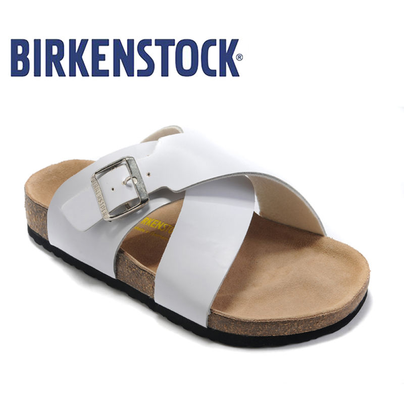 2018 New Arrival BIRKENSTOCK Classic on Men Flip Flops Party Shoes - Men's Shoes