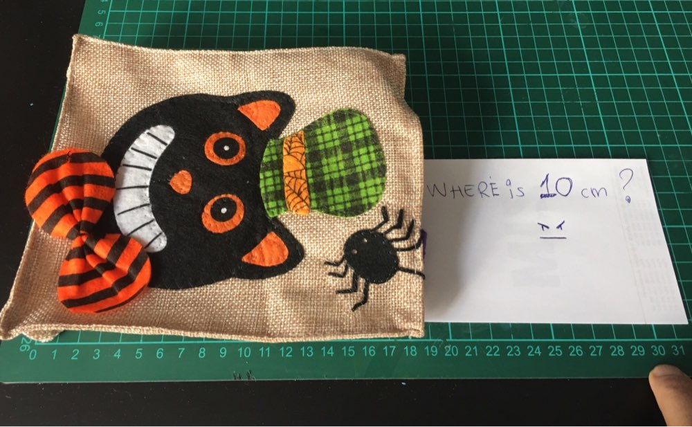 Halloween gift Cotton Linen Shopping bag Christmas cotton treat or trick Halloween witch Bag for Children Girl Boy photo review