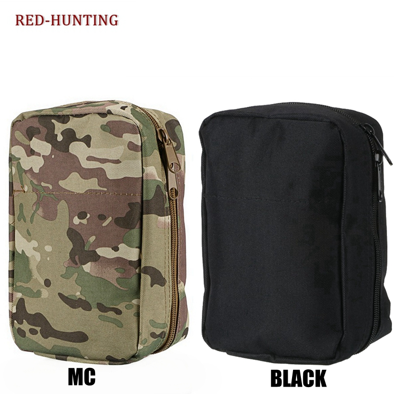 Hunting Pouch  Emergency Kits Tactical Medical First Aid Kit Waist Pack Outdoor Camping Hiking Travel Tactical Molle Bag