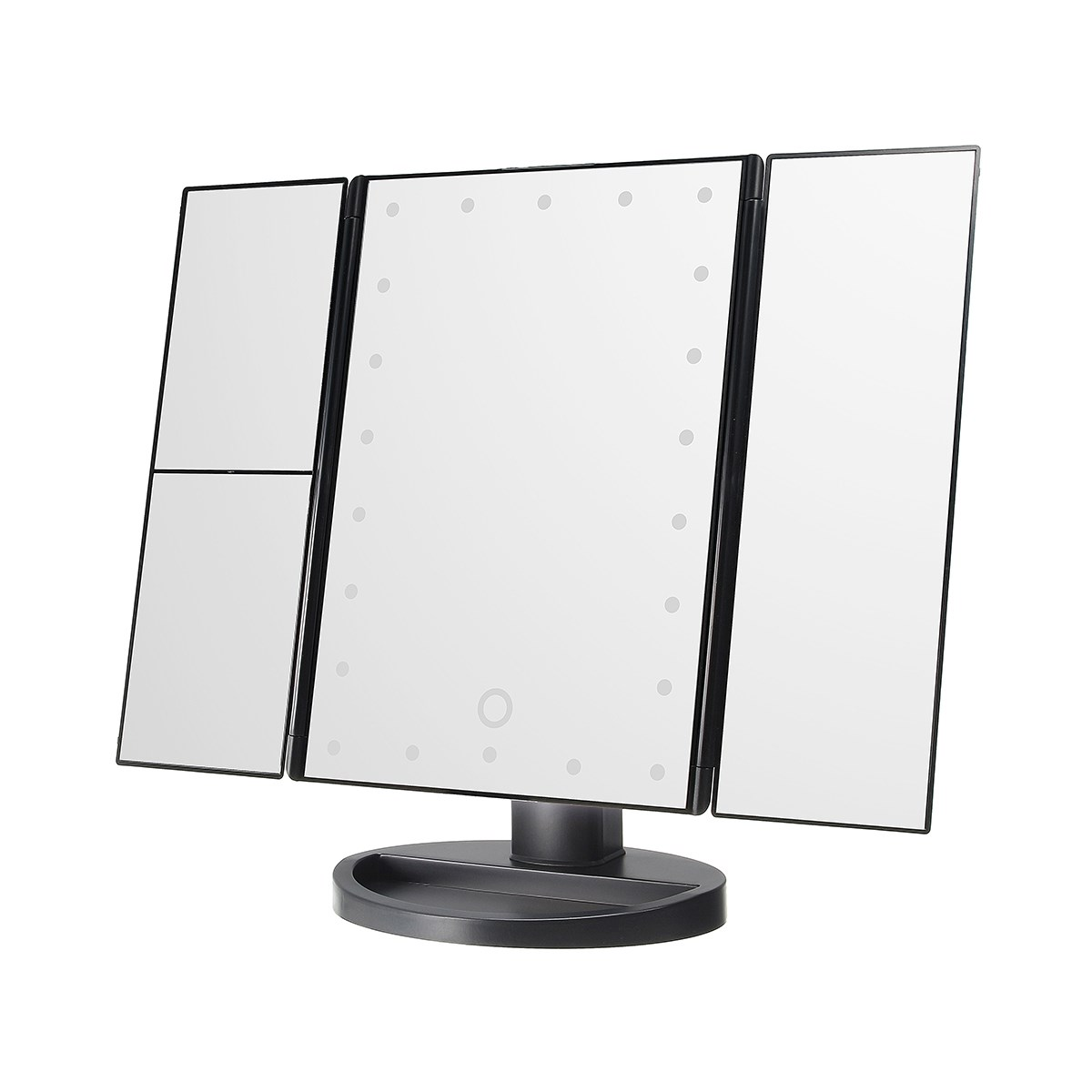 plegable pantalla tctil led espejo de luz xxx led escritorio mesa