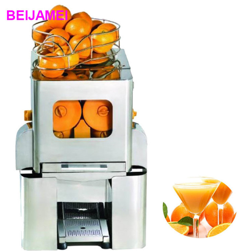 цена BEIJAMEI E-5 Juice equipment commercial juicer machine/orange squeezing machine/industrial orange juicer machine