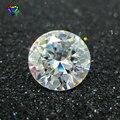 100 шт./лот 5A качество 0,8 ~ 3,0 мм Свободный CZ камень круглый бриллиантовая огранка белый кубический цирконий камень синтетические драгоценные ...