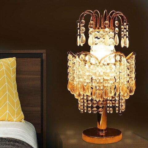 candeeiros mesa cristal luxo