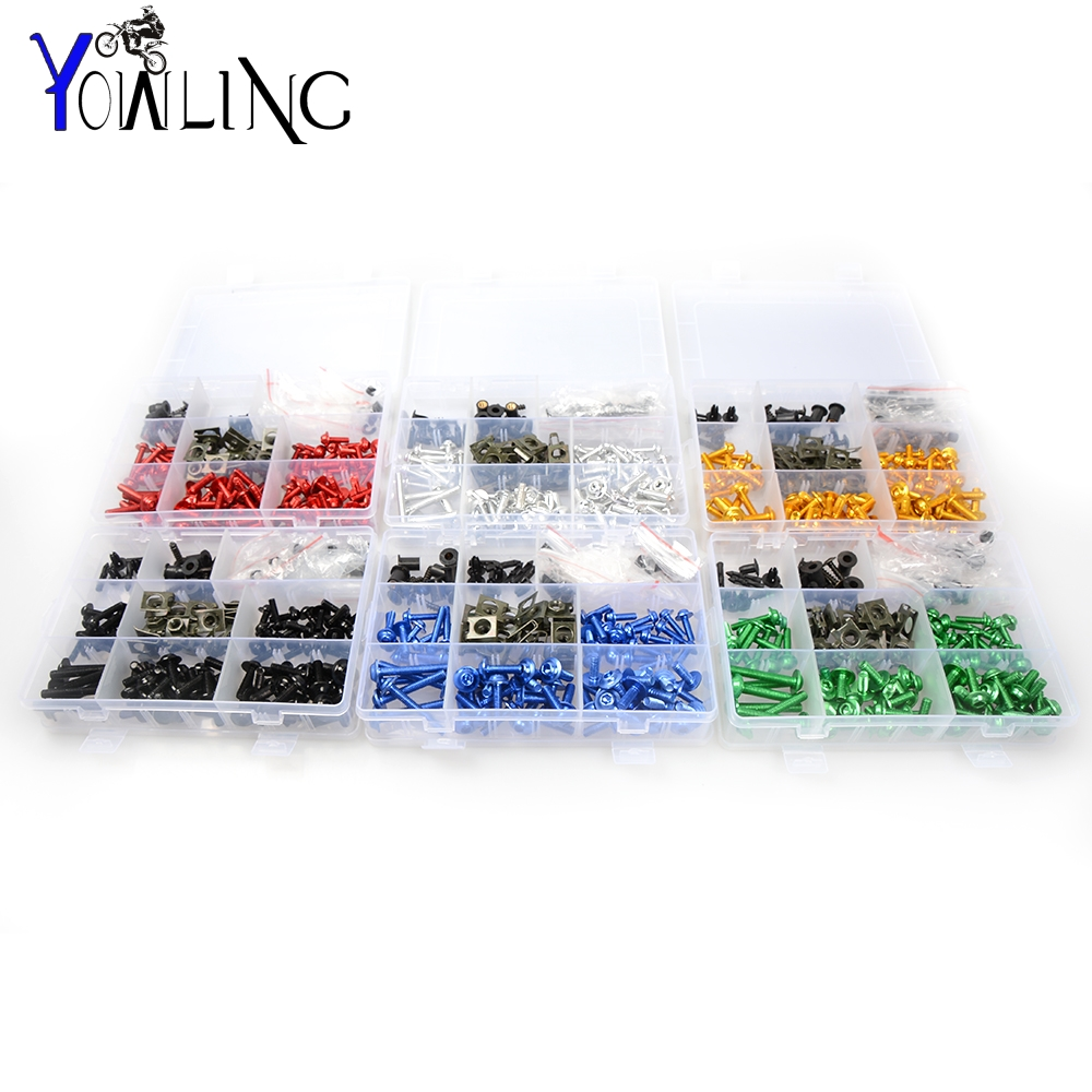 Motorcycle Accessories Fairing windshield Body Work Bolts Nuts Screws for Yamaha YZF R1/R125/R15/R1M/R25/R3/R6 r