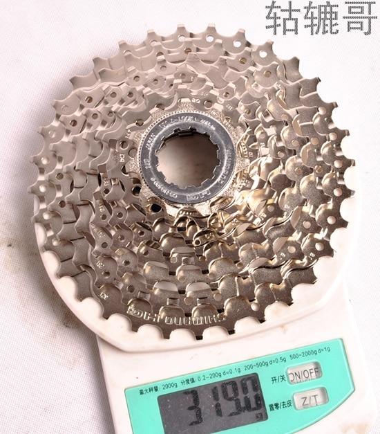 Image 3 - SHIMANO ALIVIO CS HG400 K7 MTB Mountain Bike Bicycle parts 9S Cassette Freewheel 9/27 Speeds Sprocket Tape 11 32/34/36T-in Bicycle Freewheel from Sports & Entertainment